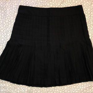 Pleated black J.Crew skirt